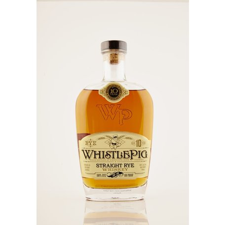 WhistlePig 10 Year Old Rye Whiskey, 50%