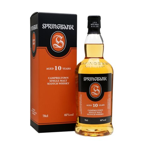 Springbank 10 Year Old, 46%