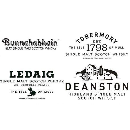 Distell Tasting event with Bunnahabhain, Tobermory (Ledaig) & Deanston, 25/09/17 , 6.30PM