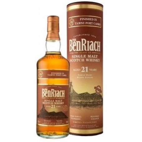 Benriach 21 Year Old Single Malt, Port Finish, 46%