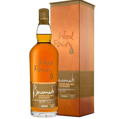 Benromach Sassicaia Cask Wood Finish, 45%