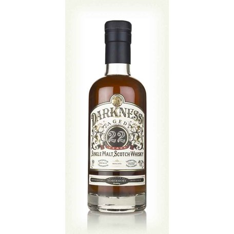 Tobermory, 22 Year Old, Darkness,  Moscatel Cask Finish, 49.2%, 50CL