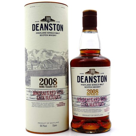 Deanston 9 Year Old Bordeaux Finish 58.7%