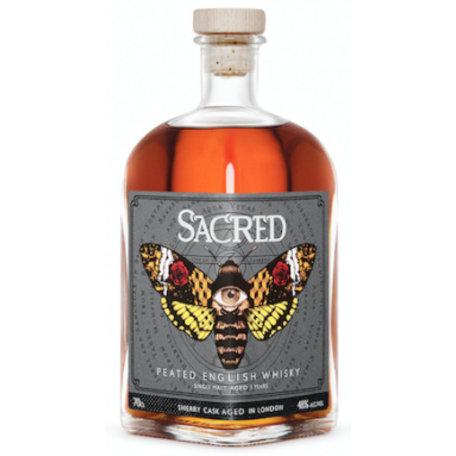 Sacred Peated English Whisky, 48%