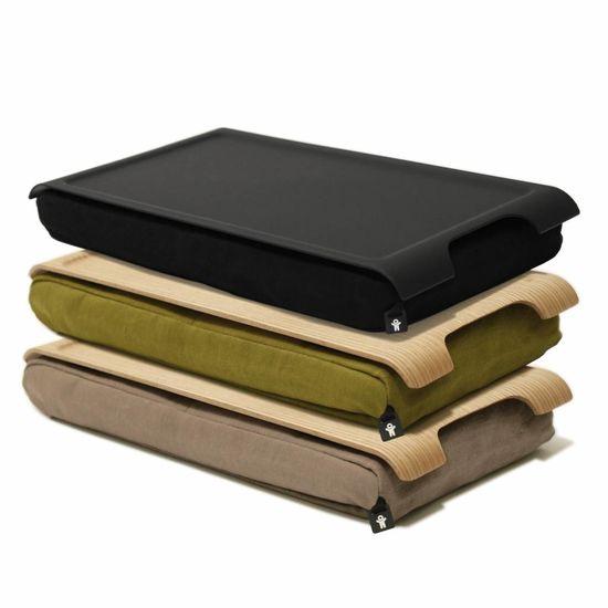 Bosign Mini laptray/ schoottafel olijfgroen/bruin