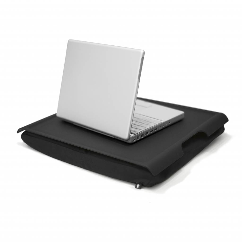 Laptray antislip zwart/zwart