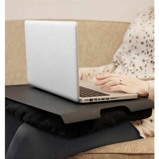 Bosign Laptray/schoottafel  zwart/zwart