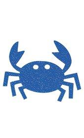 Bosign Antislip sticker krab