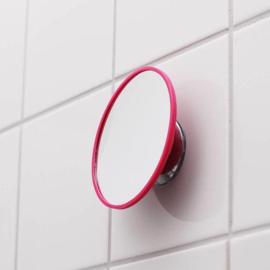 Bosign Afneembare magnetische spiegel vergroot 5x roze