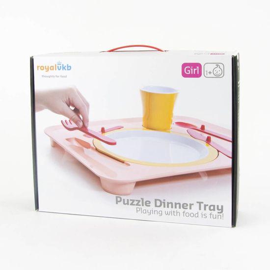 Royal VKB Puzzle dinner tray