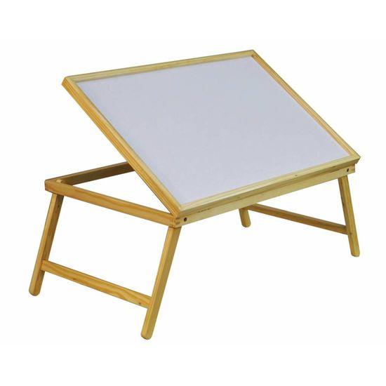 Opvouwbare houten bed tray