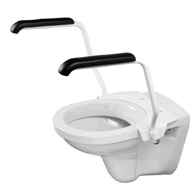 Jadaset toiletbeugel voor toiletverhoger 10 cm