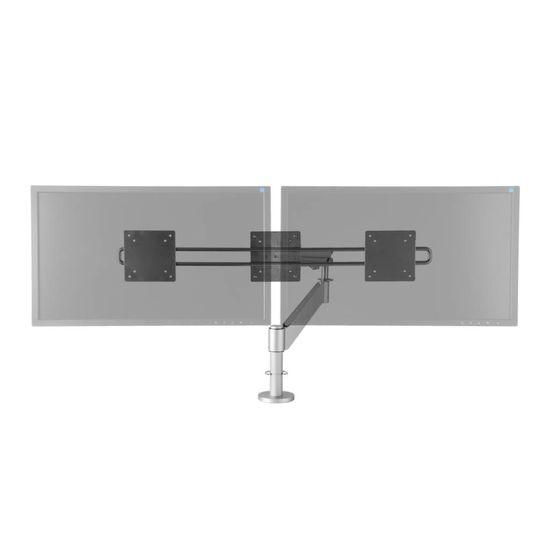 R-Go Tools Caparo 3 Pro Wing Monitorarm, gasveer, 0-16 kg, zilver