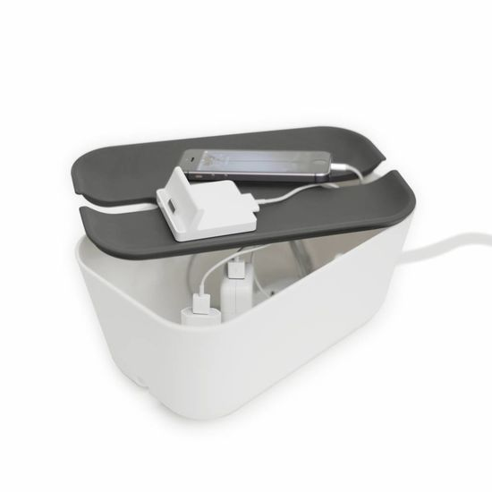 Bosign Cable organiser hideaway M white/grey