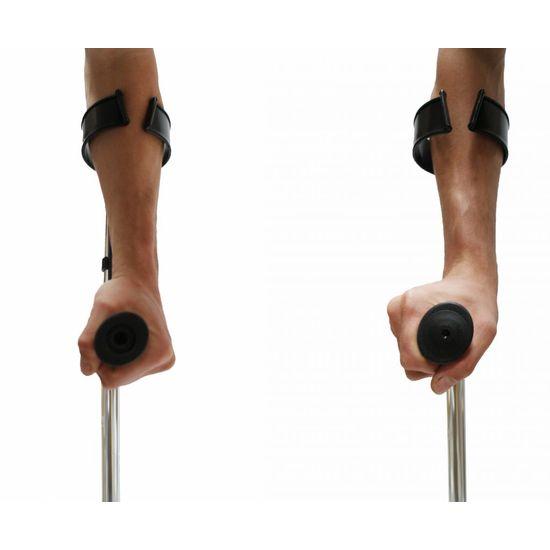 Elleboogkruk met verstelbare handgrepen