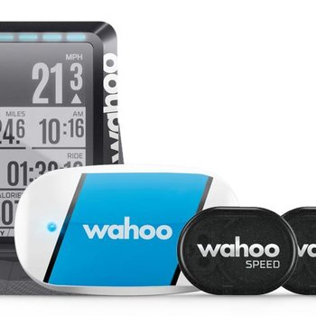 Wahoo ELEMNT GPS Bike Computer Bundle with TICKR, RPM Speed/Cadence