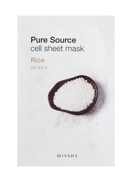 MISSHA Pure Source Cell Sheet Mask (Rice)