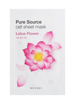MISSHA Pure Source Cell Sheet Mask (Lotus Flower)
