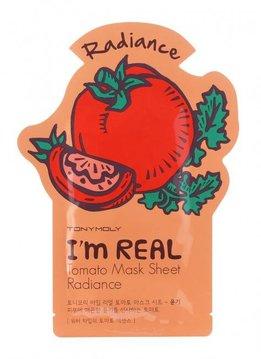 TONY MOLY I'm Real Tomato Mask Sheet Radiance (Tuchmaske mit Tomaten Extrakt)