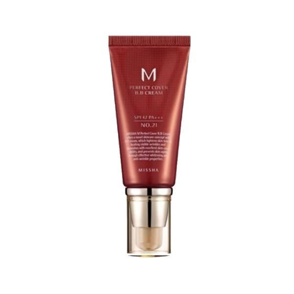 MISSHA M Perfect Cover BB Cream #21 Light Beige 50ml