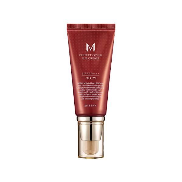 MISSHA M Perfect Cover BB Cream #29 Caramel Beige 50ml
