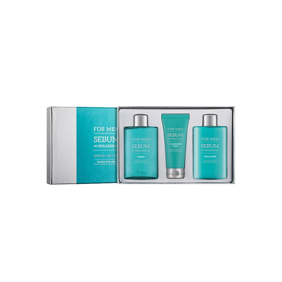MISSHA For Men Sebum Breaker Set