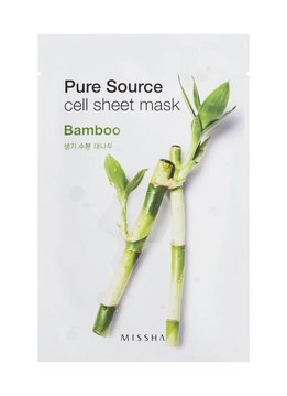MISSHA Pure Source Cell Sheet Mask (Bambus)