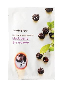 innisfree It's real squeeze mask black berry (Tuchmaske mit Brombeer Extrakt)