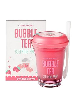 Etude House Bubble Tea Sleeping Pack 100g (Strawberry /Erdbeere)