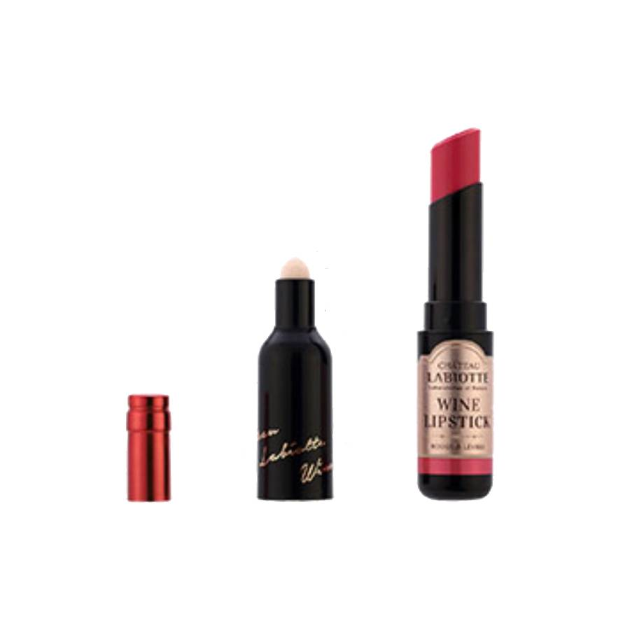 Labiotte Chateau Labiotte Wine Lip Stick (Lippenstift mit Weinextrakt - Noir Pink)