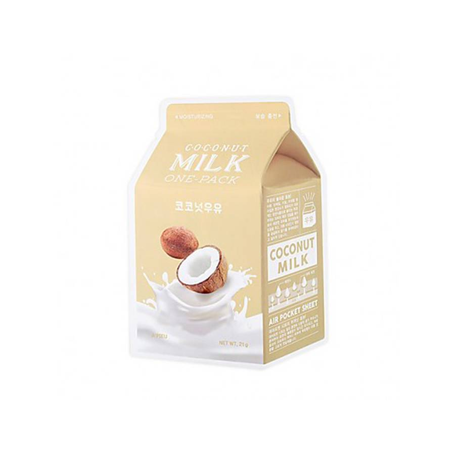 A'PIEU Milk One Pack Sheetmask/Tuchmaske (Coconut)