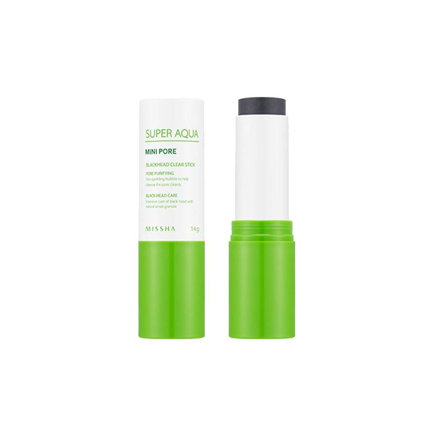 MISSHA Super Aqua Mini Pore Black Head Clear Stick (14g)