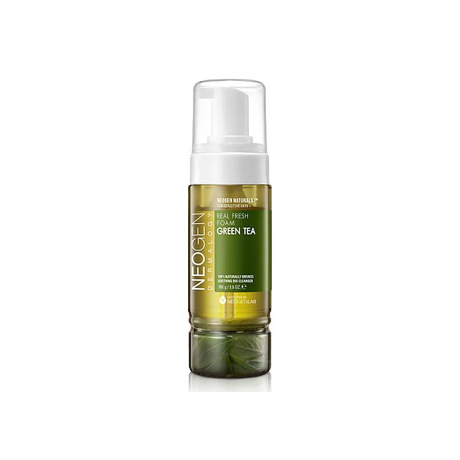 Neogen Green Tea Real Fresh Foam Cleanser (160g)