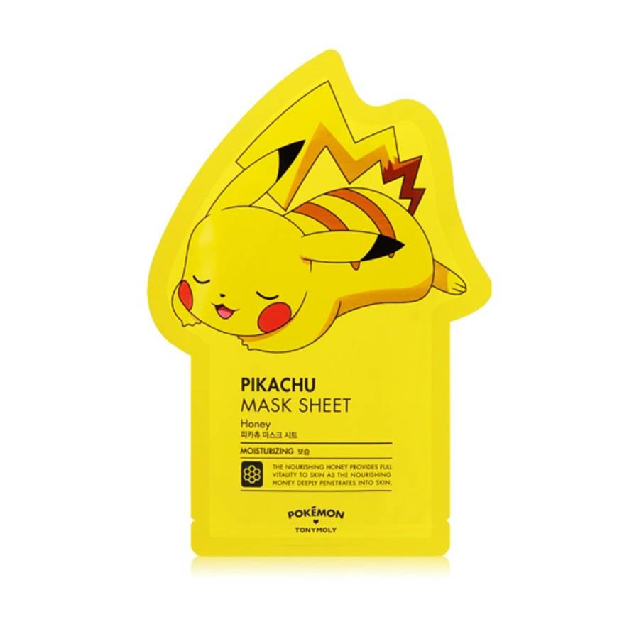 TONY MOLY Pokémon Pikachu Mask Sheet - Honey (Tuchmaske Honig-Extrakt)