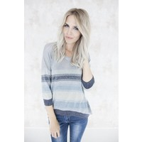 STRIPPED ELIN BLUE - TRUI