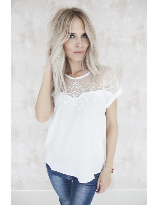 LINA LACE WHITE