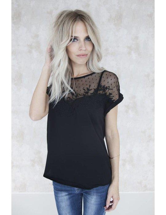 LINA LACE BLACK