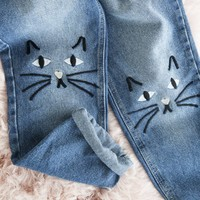 THE KITTY -JEANS