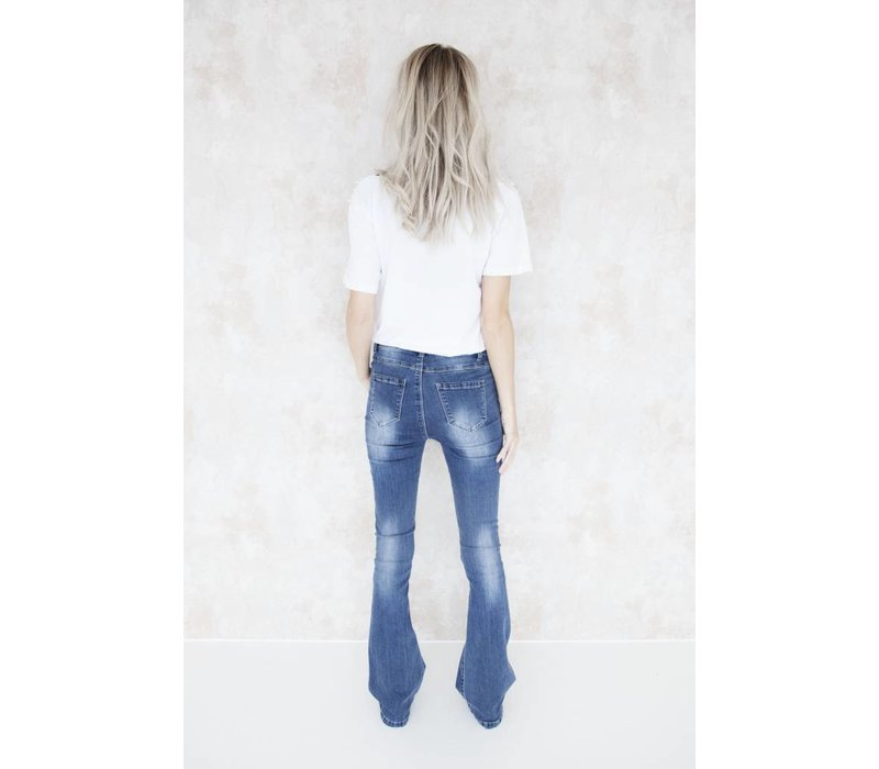 FLARED BLUE - JEANS