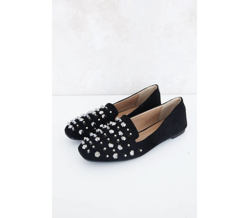 STUDS BLACK - LOAFERS