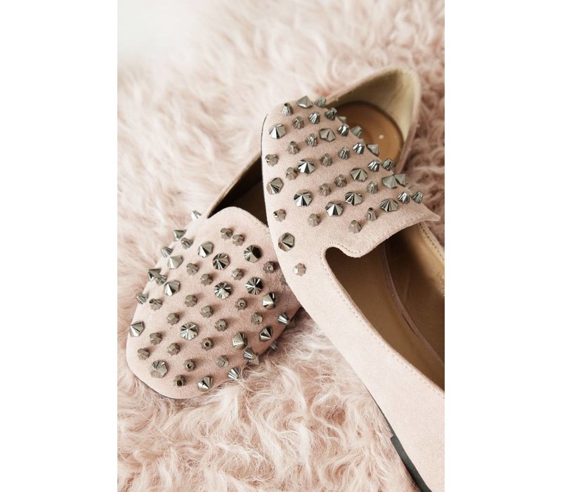 STUDS PINK - LOAFERS