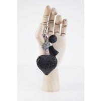 LOVE BLACK - SLEUTELHANGER