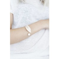 FEATHER ROSE GOLD - ARMBAND