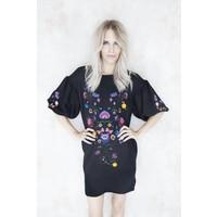 ASTER BLACK - SWEATER DRESS