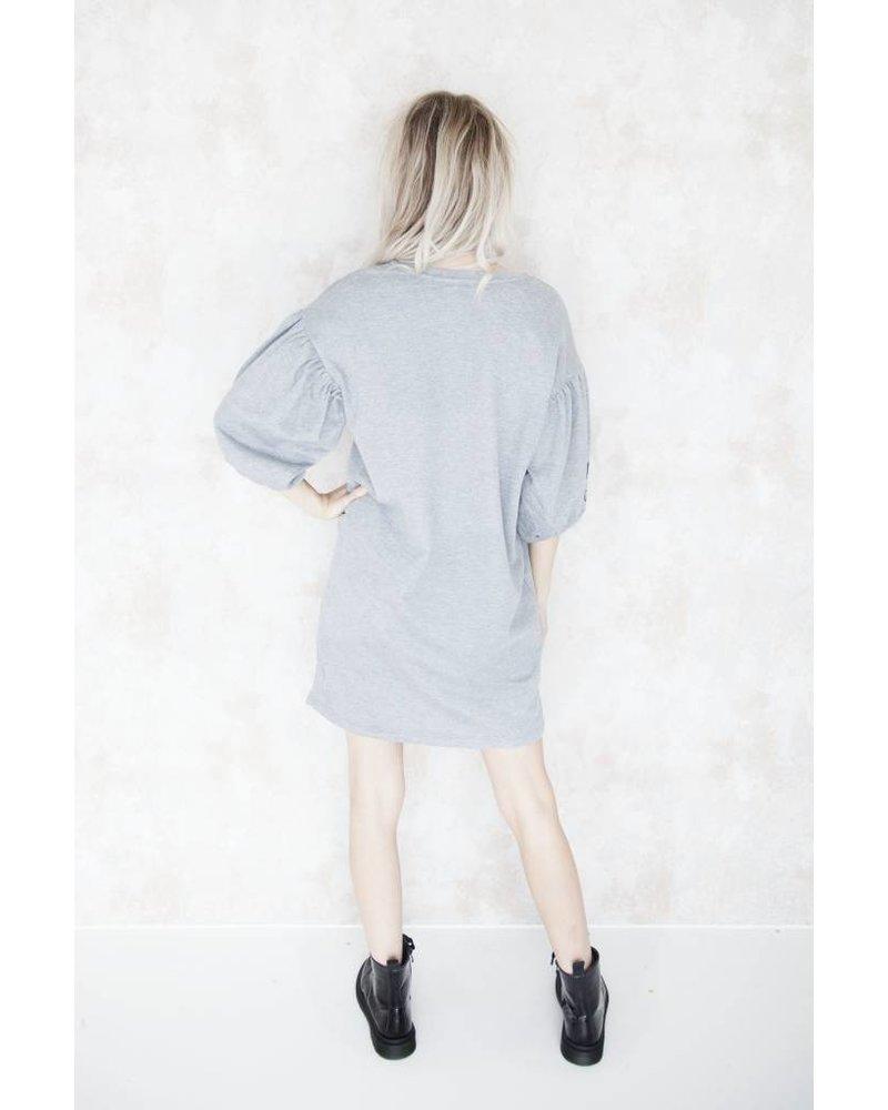 ASTER GREY - SWEATER DRESS