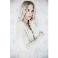 SOFT & SPARKLY CREME - GILET