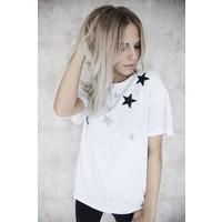 STARRED WHITE - T-SHIRT