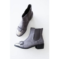 BOW GREY - BOOTIES