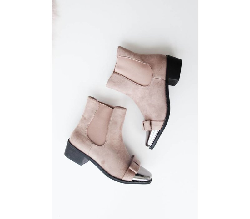 BOW PINK - BOOTIES
