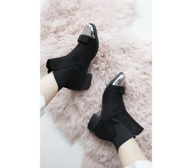 BOW BLACK - BOOTIES